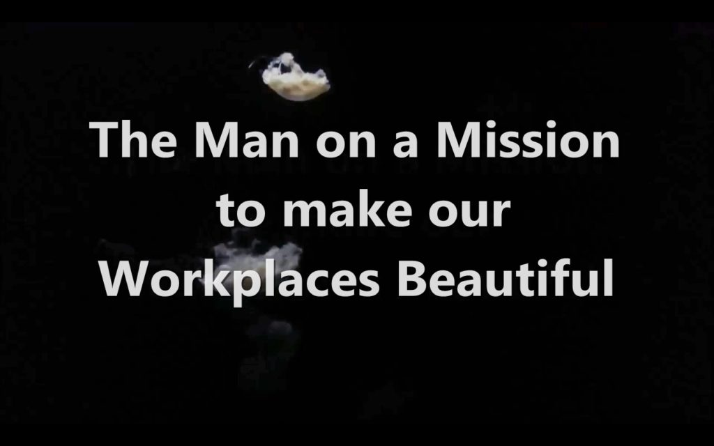 The man on a mission to make our workplaces beautiful - Martin Green - HR Waterfall