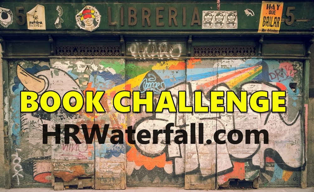 HR Waterfall book challenge hrwaterfall.com